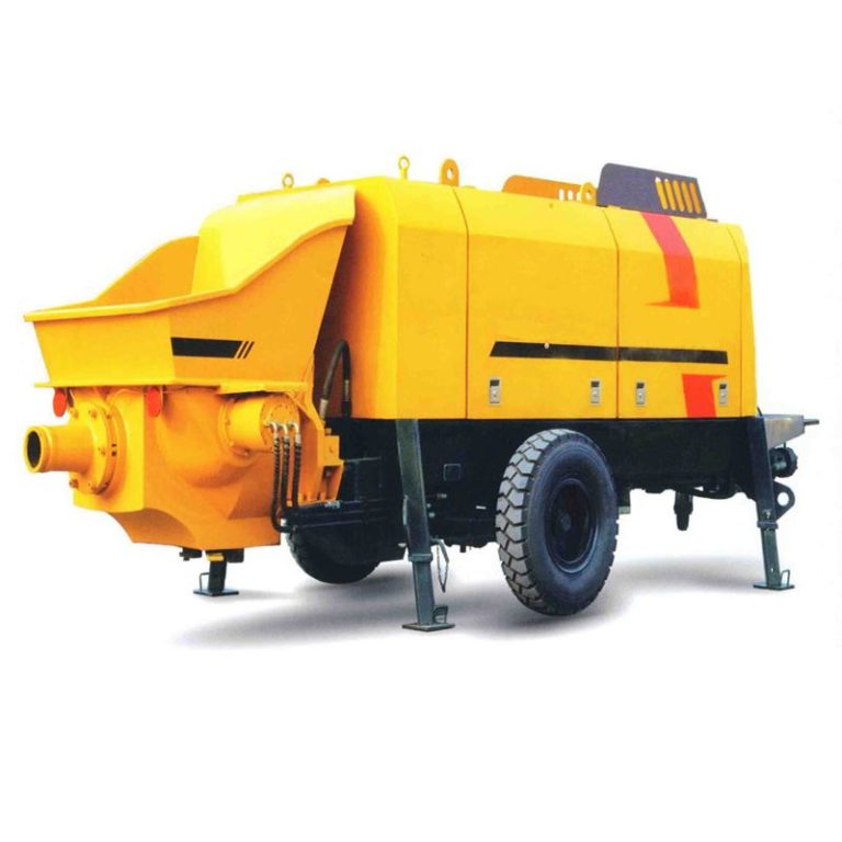 HBT60S1413-112R Trailer Concrete Pump