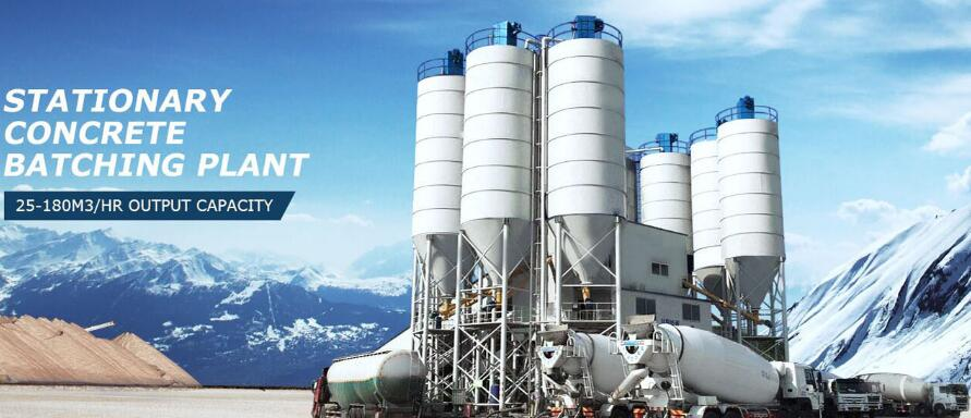 Where to buy a concrete batching plant at low price