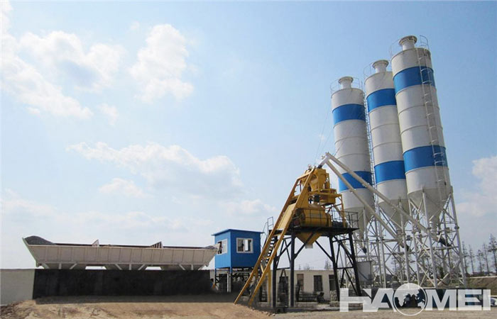 china concrete batching plant factory