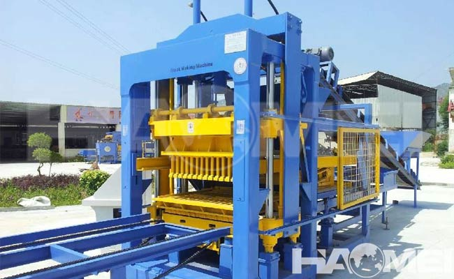 automatic brick making plant