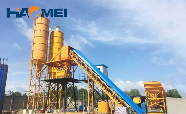 HZS concrete plants for sale