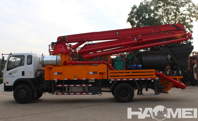 How to choose concrete pump car
