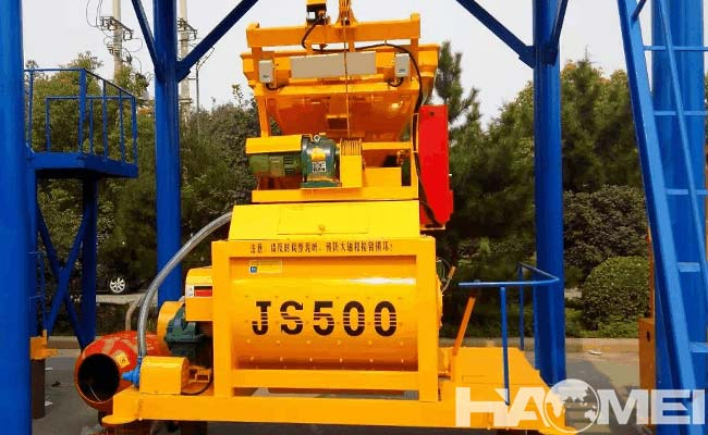 Mini concrete mixer price
