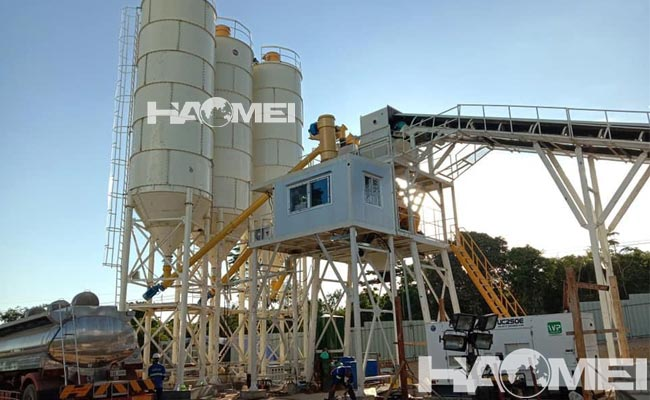 concrete batching plant case