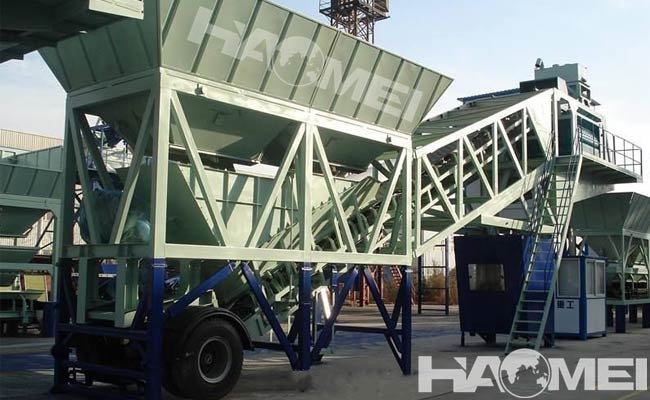 Portable batching plant for sale