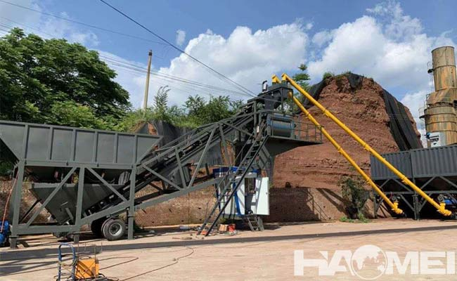 concrete batching plant mobile