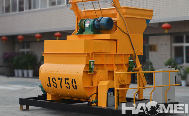 cost of concrete mixer